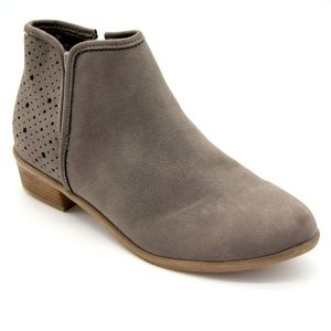 Wonder Nation Girls Faux Suede Ankle Boots New